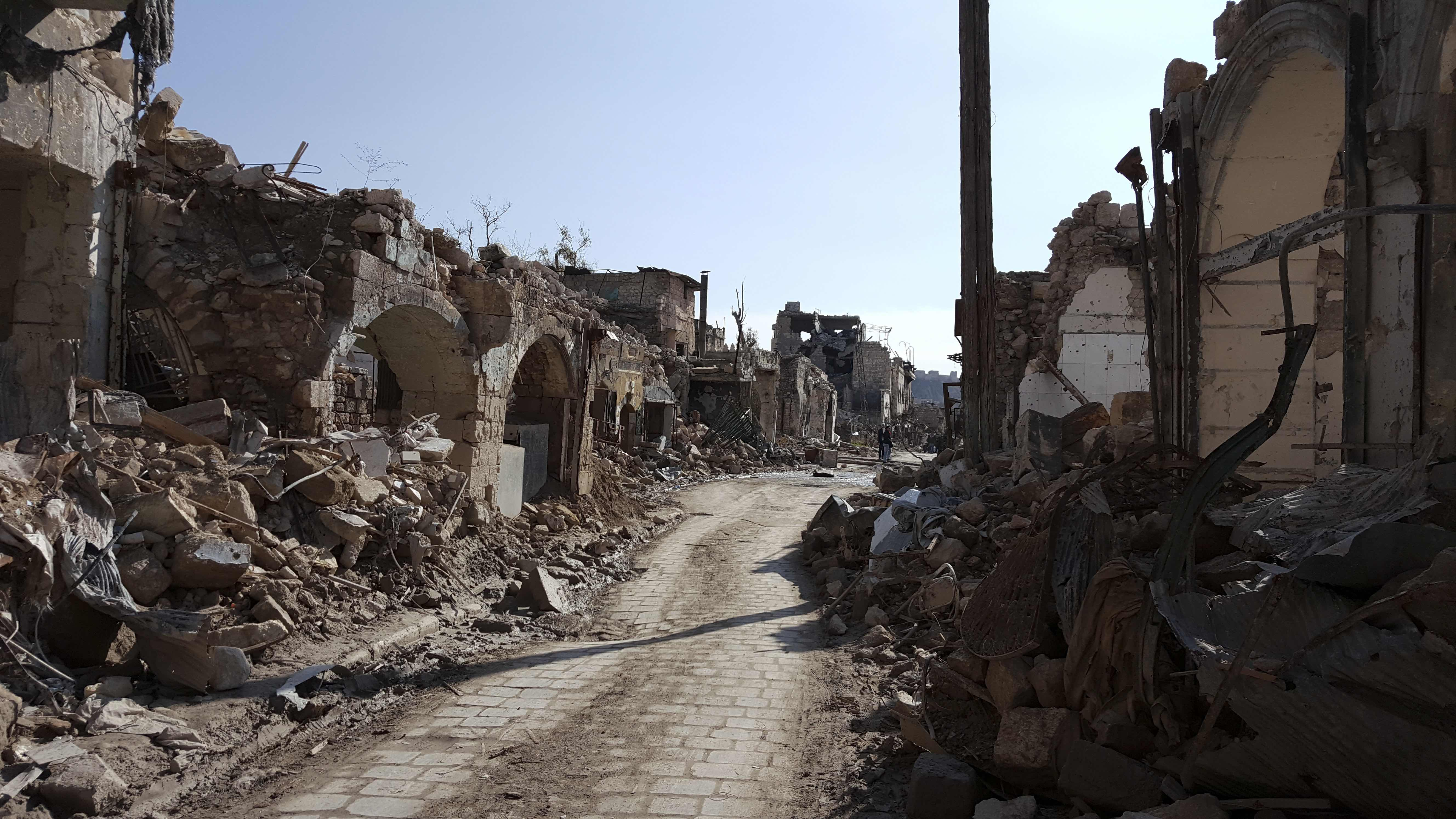 Aleppo: how it was and what became