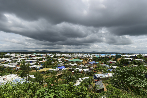 Photo of Rohingya camp in Bangladesh