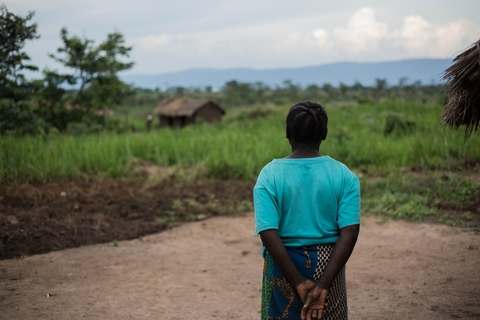 Congo gender violence survivor