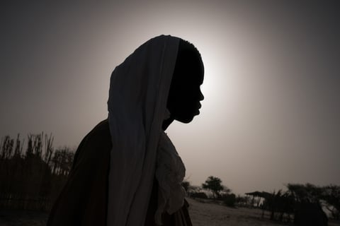 Photo of a young man who was abducted by Boko Haram in the Lake Chad region