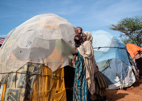 Photo of internally displaced person in Somalia