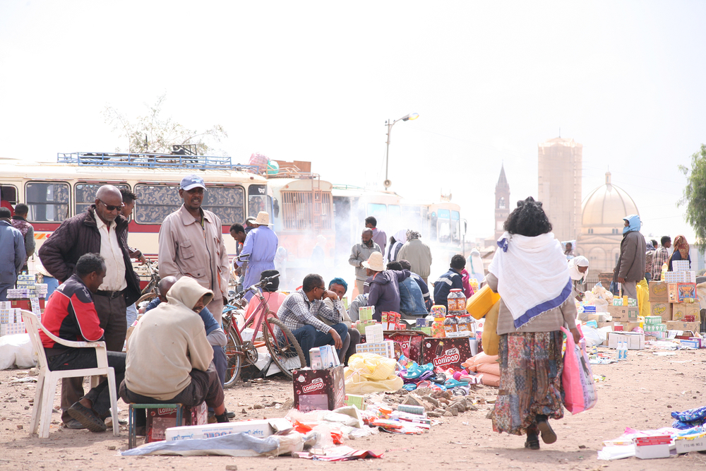 The New Humanitarian | Amid border wrangles, Eritreans wrestle with