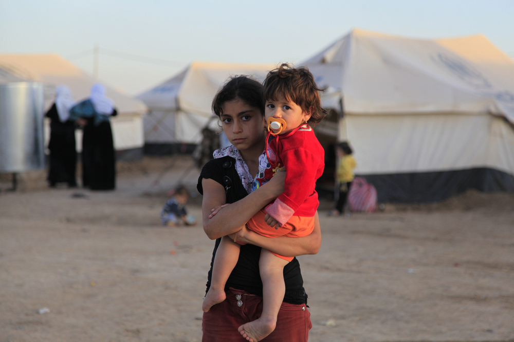 Syrian refugees in Iraq's Kurdistan region
