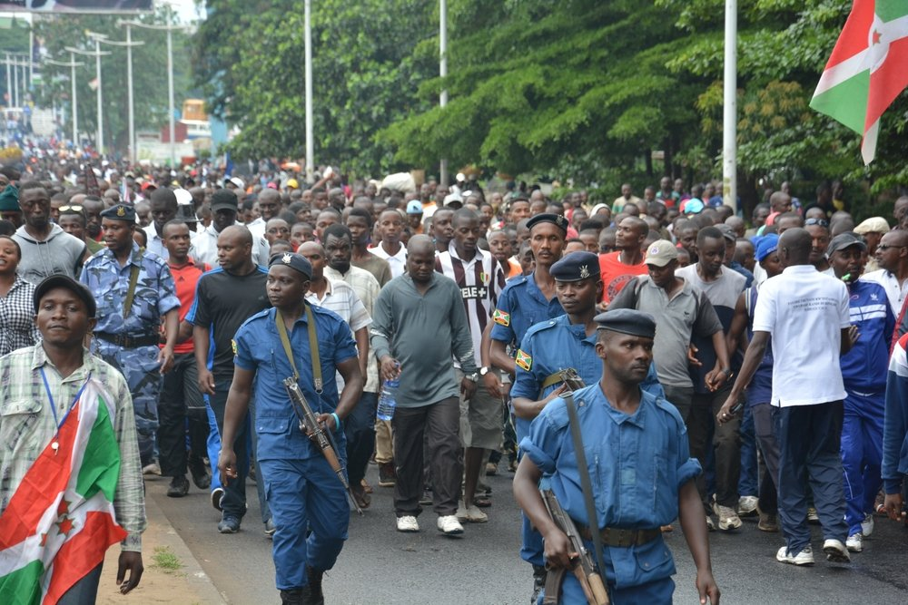 Demonstration in Bujumbura