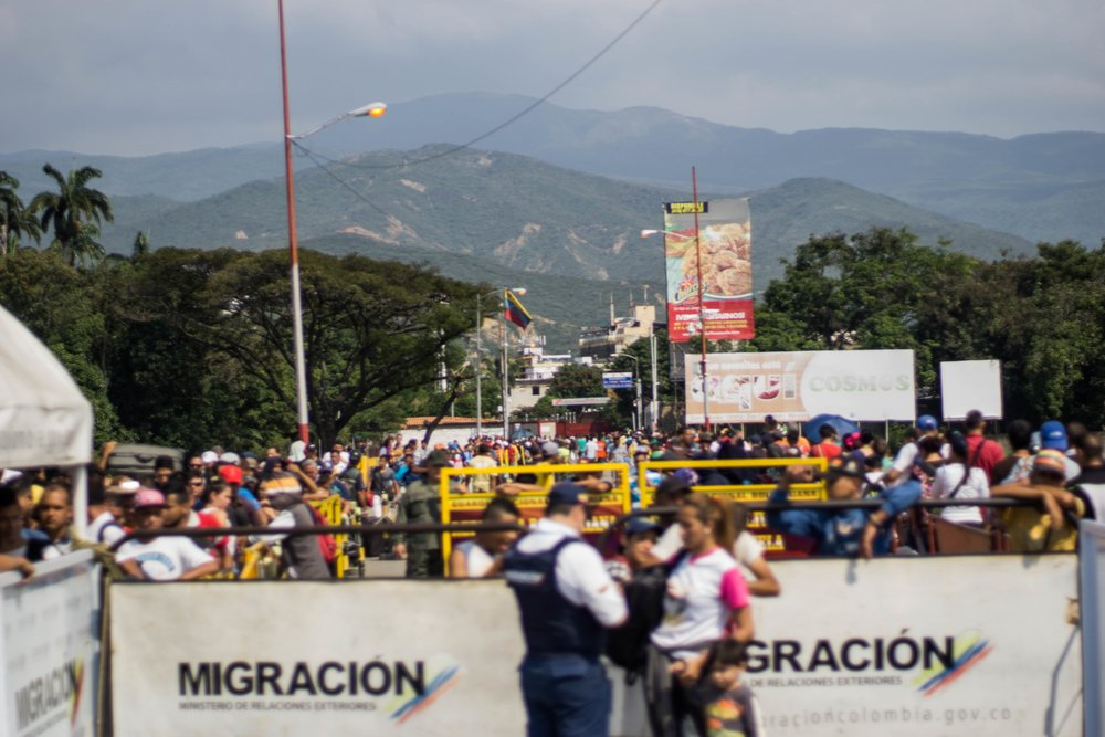 3a6dd022 Half a million and counting: Venezuelan exodus puts new strains on Colombian  border town