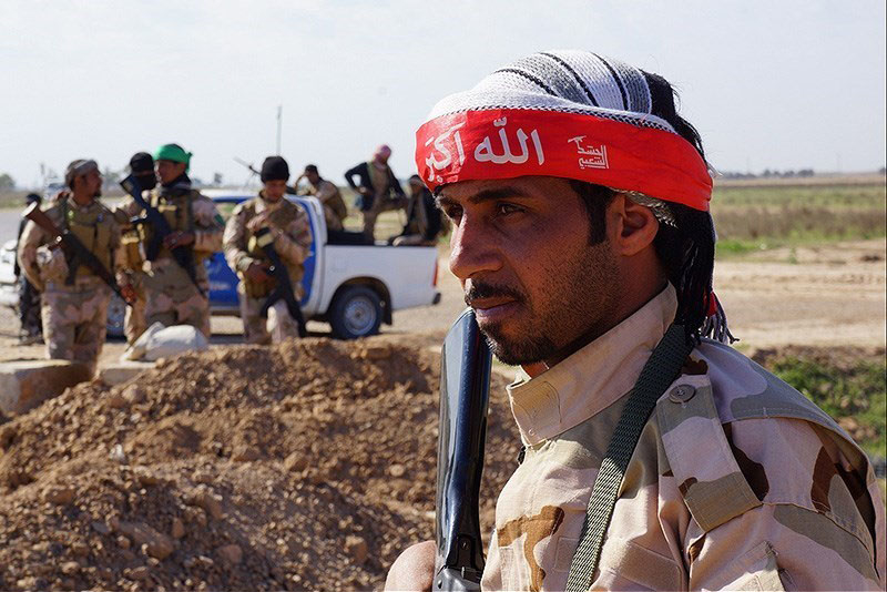 Militia fighter in Iraq