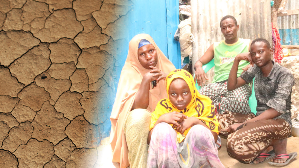 Portrait of Madina's family in Mogadishu, Somalia