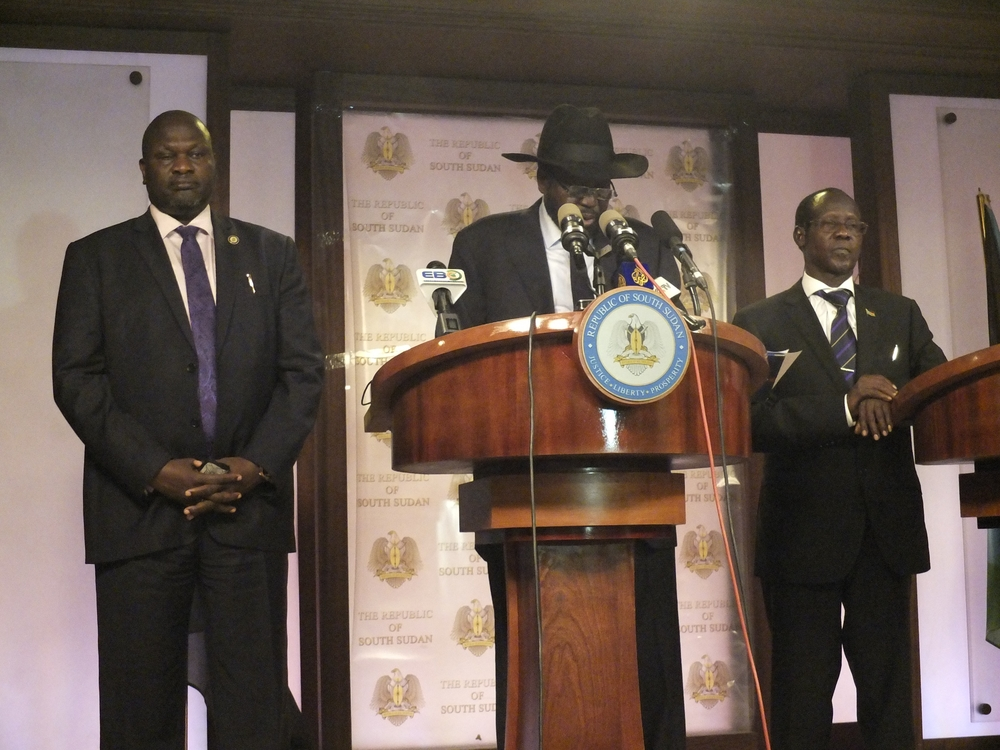 South Sudan's leaders