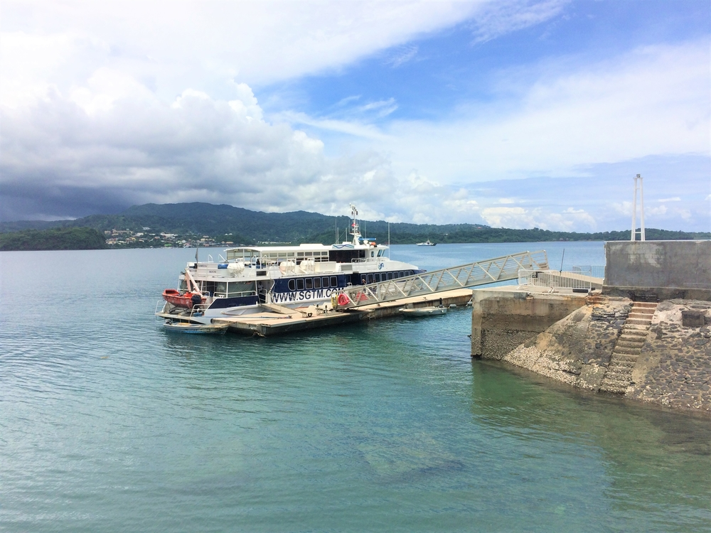 Mayotte ferry