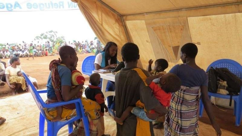 Mozambican refugees arrive in Malawi