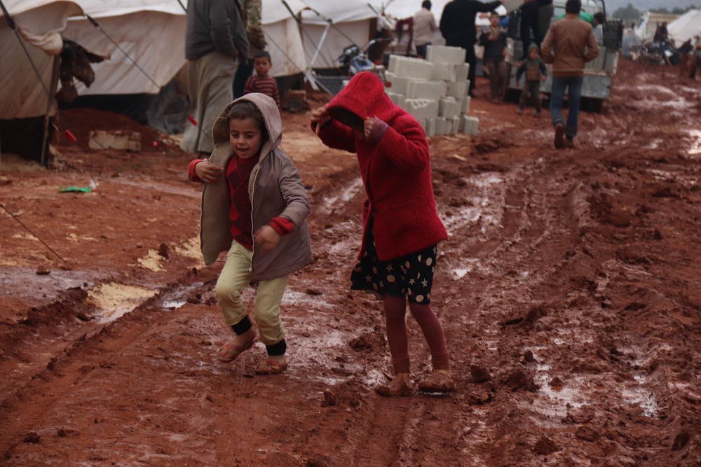 UNICEF says more than half a million children are among those forced to flee their homes in the last three months.
