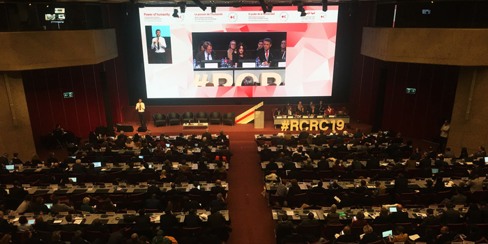 Negotiations at Red Cross conference shrouded in global politics